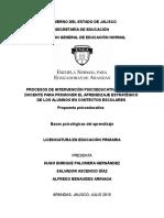 a2t2_procesos de Intervención Psicoeducativa y Acción Docente Para Promover El Aprendizaje Estratégico de Los Alumnos en Contextos Escolares