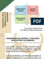 Organismos de control y vigilancia sistema financiero colombiano