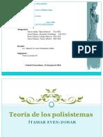 Teoría de Los Polisistemas