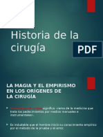 1. Historia de La Cirugia