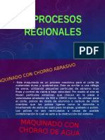 Procesos regionales