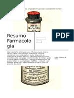 Farmacologia - revisão -Tudo