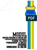 Modul MAPABA Bersama Tri Rayon PMII Al-Qolam 2016