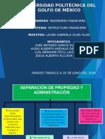 Expo de Estructura Financiera de 1er Corte