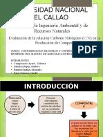 Evaluacion de La Relacion Carbono Nitrogeno en La Elaboracion de Humus