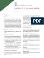 Protocolo diagn+¦stico de la hematuria aislada