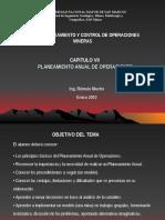 Capitulo VII Planeamiento anual de Operaciones.ppt
