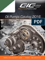 Catalogo Oil Pump CIC 2016
