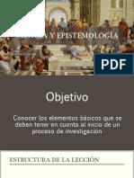 1_1 Ciencia y Epistemología