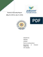 Jubilant Lifesciences Report