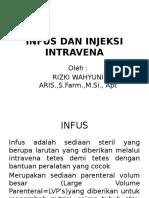 Infus Dan Injeksi Intravena