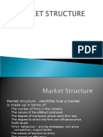 A Presentation on Market Structure