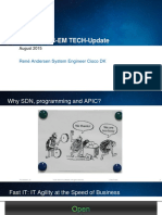 Cisco Tech Update Apic-em Sdn 18 Og 20 August 2015