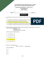 2012 - Invierno Matematicas 0A Ingenierias v0