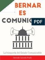 Gobernar Es Comunicar-libro German Caicedo Prado