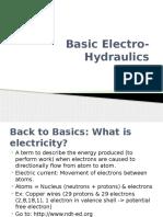 (Week 4) Basic of Electro-Hydraulics & Design