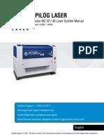Epilog Fusion Laser manual