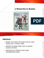 4.5 Absolute Monarchy in Russia