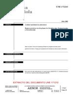 Extracto Norma Española Une 171210