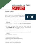 Monitorización de Redes Con Zabbix