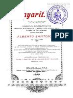 Nayarit, Colección de Documentos