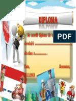 Diploma Pieton