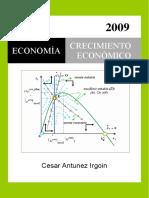 Crecimiento Económico, Modelos de Crecimiento Económico-César Antunez I.