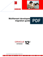Multitenant Development and Migration Guide