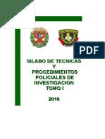 Tecnica y Procedimientos Policiales I -ACT