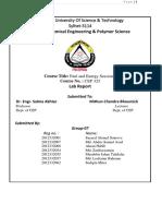 Fuel Lab Report