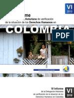 Informe de la Delegación Austariana de Verificación. Derechos Humanos en Colombia. 2010