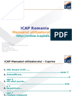 IcapRomania - Manual