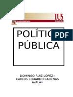 Qué Es Una Política Pública