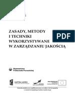 zasady Metody Techniki Wykorzystywane w Zarządzaniu Jakością Do Druku