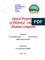 Optical Properties of Polyvinyl-Chloride Alumina Composite