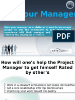Excelling the Skills and Controllability While Rate Your Manager