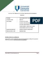 Pretest-unit-op-lab-thin Film Evaporator Sem12016 2017 2