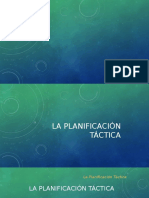 Planeacion Tactica Educativa