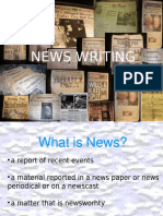 news writing.ppt