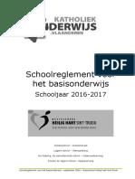 Schoolreglement September 2016 2017 HHart