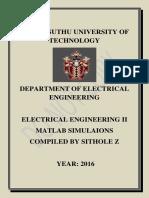 ENG. II Lab Manual