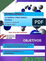 Quimica General Clase 1 UTP