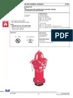 2700 Dry Barrel Fire Hydrant