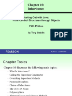 CSO Gaddis Java Chapter10