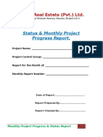 Customized Project Report