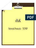 Network Protocols - TCP-IP