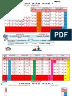 Calendar Școlar 2016-2017