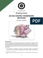 An ISA-centric Framework Beckons