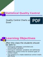 Statistical Process Control Fundamentals
