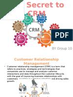 Case Presentation -CRM Final